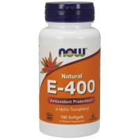 Vitamin E-400 IU D-Alpha Tocopheryl Acetate - 100 Softgels
