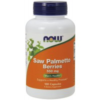 Saw Palmetto Berry 550 mg - 100 Capsules