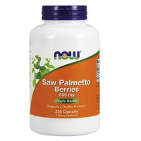 Saw Palmetto Berries 550 mg - 250 Capsules