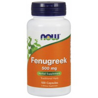 Fenugreek 500 mg - 100 Capsules